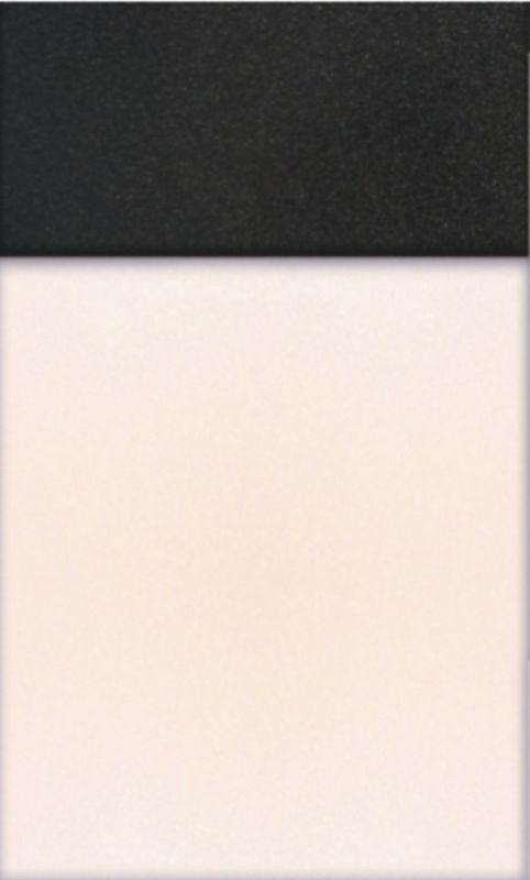 Белый + черный металлик