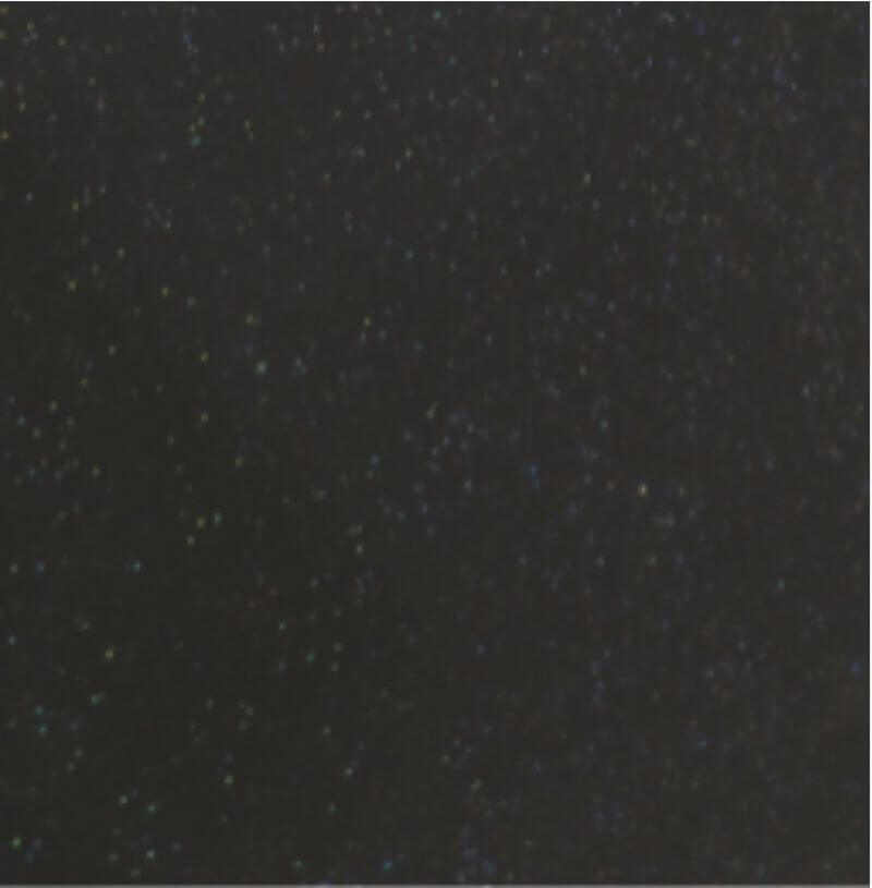 черный -звездное небо