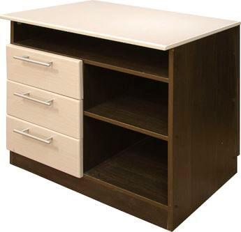 Приставка к столу менеджера с выдвижными ящиками-1