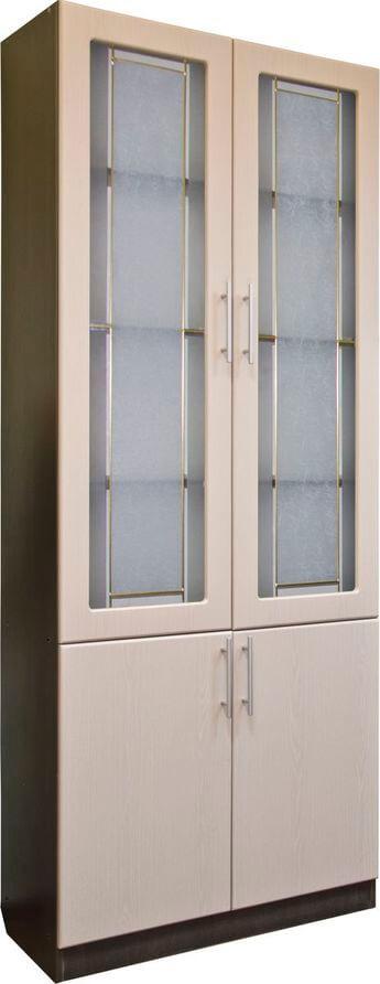 Шкаф для документов (стекло)-1