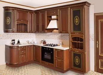 Кухонный гарнитур Севилья-Голд