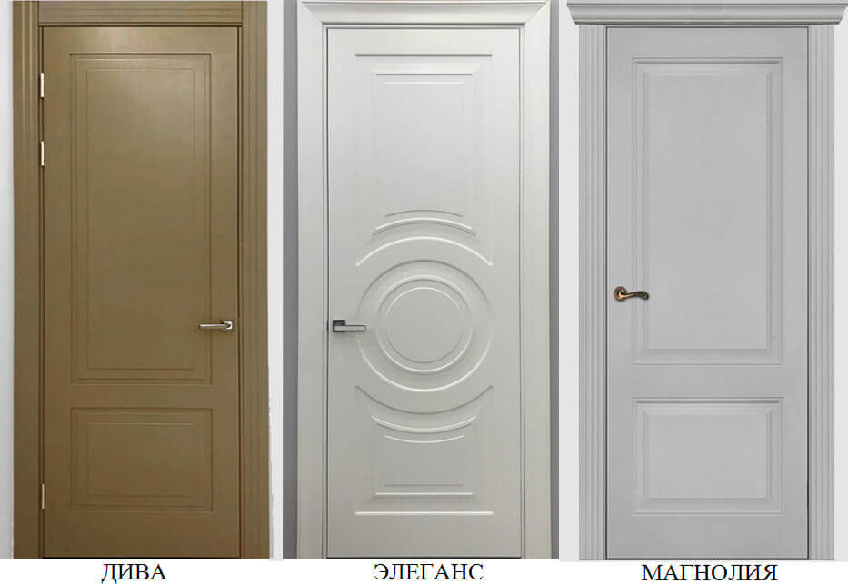 Новые коллекции дверей