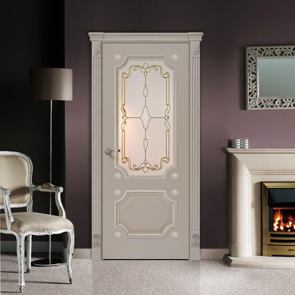 белые двери прованс в интерьере квартиры