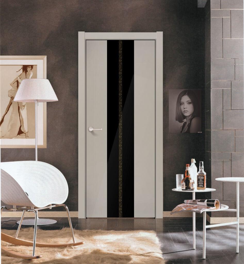 белые двери скандинавский стиль в интерьере квартиры