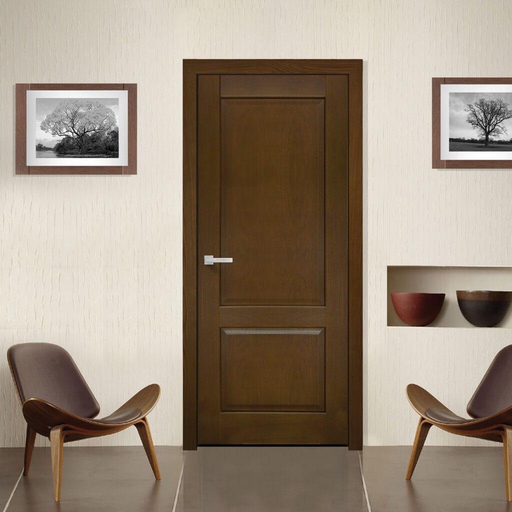 эмалированные двери венге