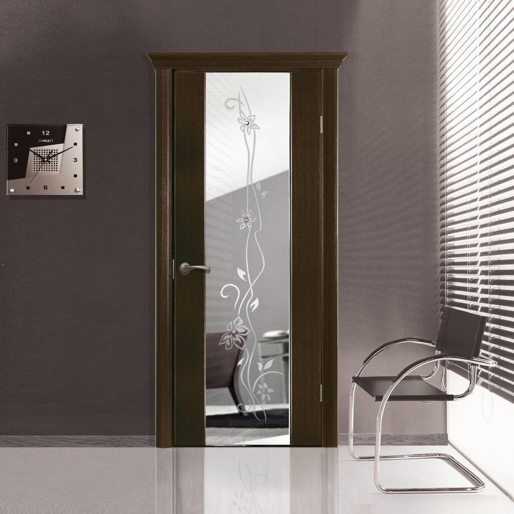 Двери венге в интерьере: как правильно сочетать с мебелью