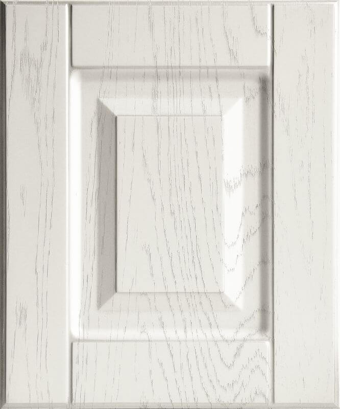 Дуб фактура белый Серебро