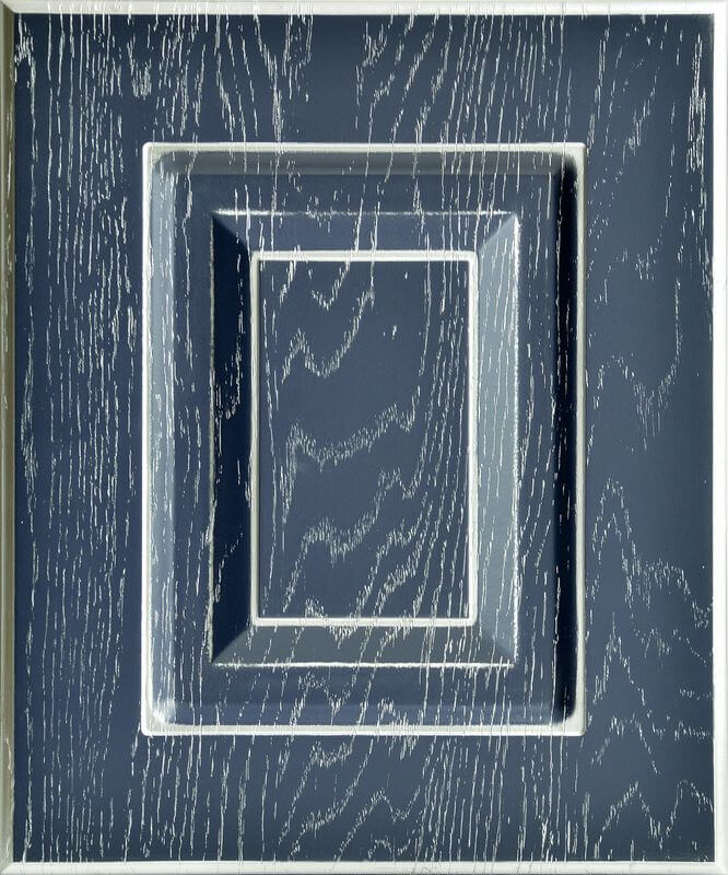 ДАНИЭЛЛА NEW- Дуб фактура синяя ночь Серебро