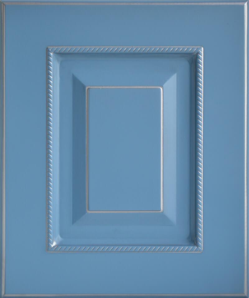 Голубой+серебро
