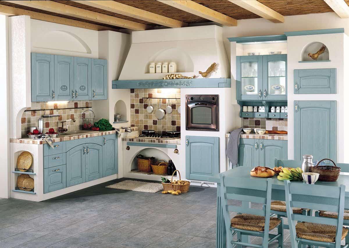 Несколько советов как расставить мебель на кухне