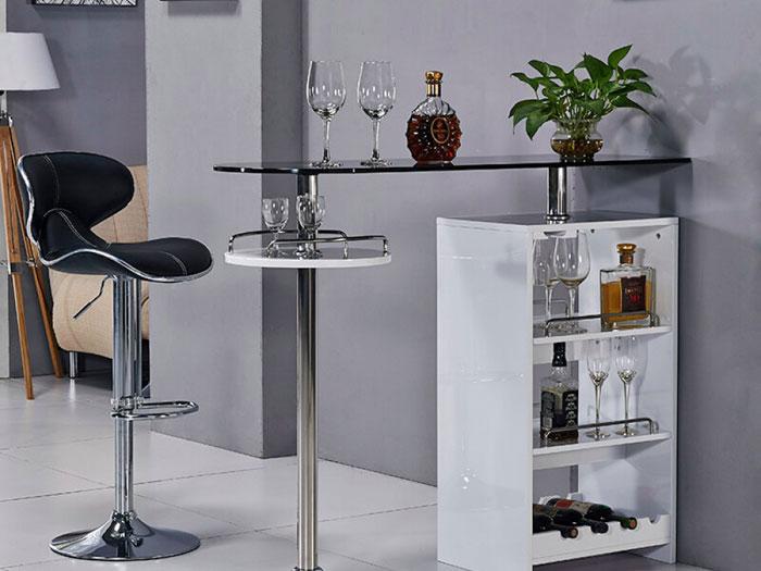 Компактная стойка с барным стулом